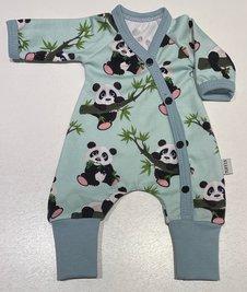 Sparkdräkt Panda mint, 36/38