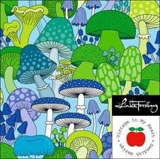 Amanita green/blue