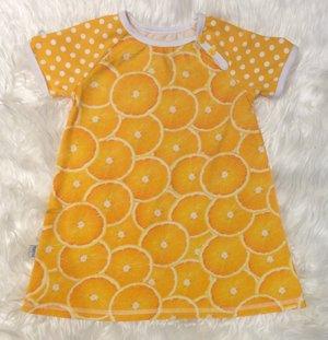 Klänning Apelsiner, stl 98