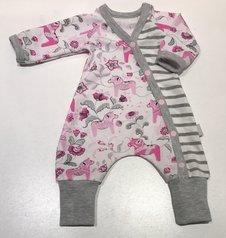 Baggy-dress Dalahästar rosa, 40/42