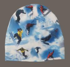 Mössa Snowboard (fleecefoder), stl 54/56