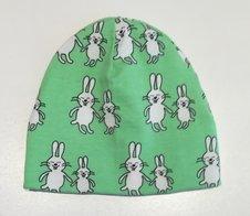 Mössa Funny Bunny grön, 42/44