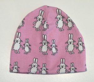 Mössa Funny Bunny rosa, 46/48