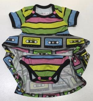 Body-klänning Kassettband, 56