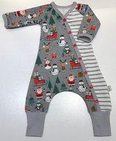 Baggy-dress Jul grå, 56