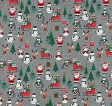 Jul gråmelerad