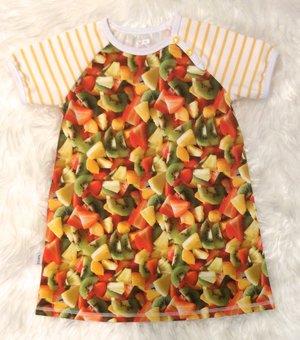 Klänning Fruktsallad, stl 110
