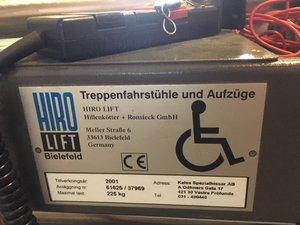 Handikapps Hiss/Ramp