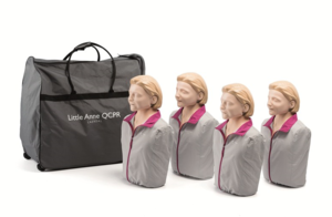 HLR-docka Little Anne QCPR 4-pack