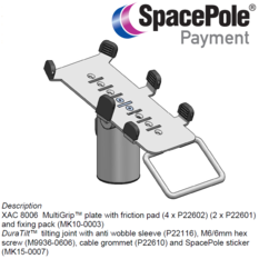 XAC 8006 DuraTilt™ Mount+MultiGrip