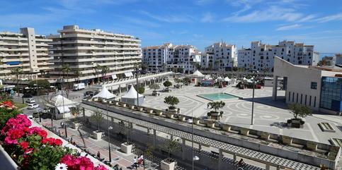 Apartement for short term rent Puerto Banus Marbella 2 beds -rented