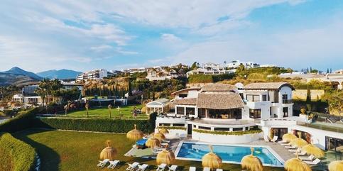 Luxury villa to rent Los Flamingos 10 beds