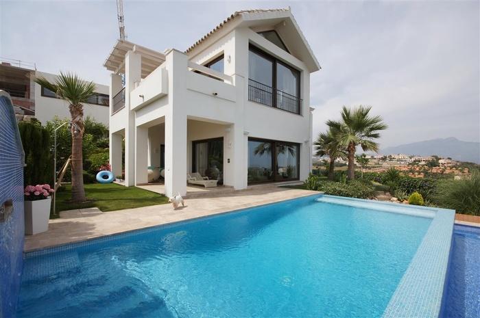 Villa i Benahavis Costa del Sol 5 sovrum