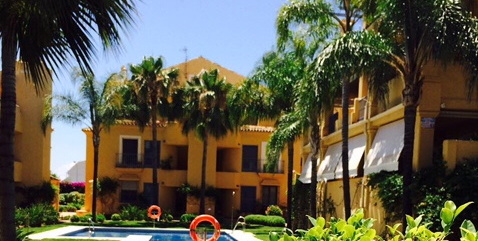 Apartment for short term rent in Nagueles Marbella 2 beds