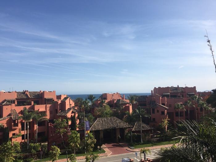 Lägenhet i Las Nayades  Estepona Costa del Sol 3 sovrum