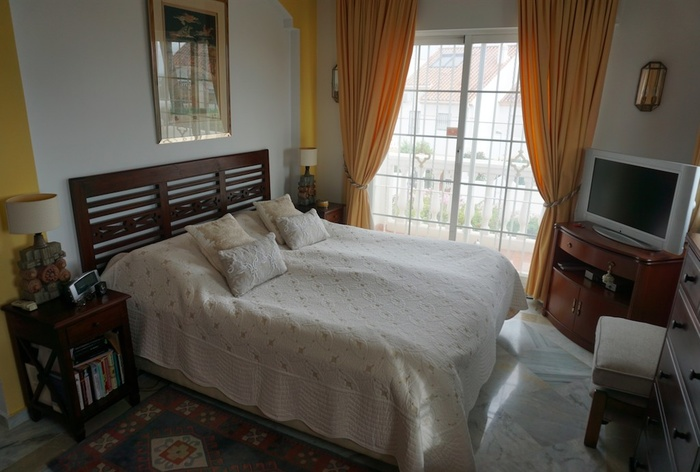 Hus Estepona Costa del Sol 4 sovrum - såld