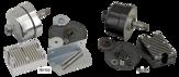 Alternator conversion kit 750 sida  37-73 Svart  (krom)