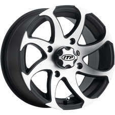 "ITP Twister Wheels 14"" svart/polerad"