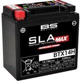 BS Batteri  BTX14H  AGM 14Ah  220CCM