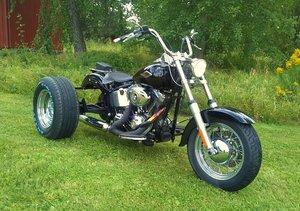 2009 HD FLSTC  Softail  Trike  Höstpris