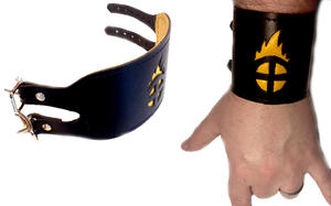 MMI - Leather wrist band