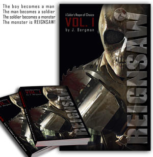 """REIGNSAW - """"Vol 1. A Soldier's Weapon Of Choice"""" - Book"""