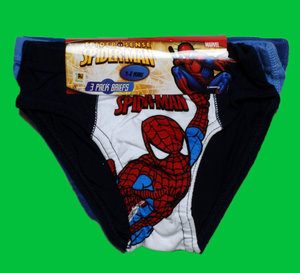 Spiderman kids briefs 3-pack