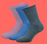 Extra lös resår 3-pack (Melange rosa, Melange blå, Melange grå)