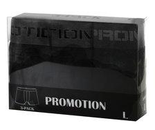 Herrboxer 3-pack, svarta x 3