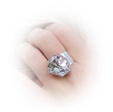 DIAMOND - Crystal  /ring 19 mm