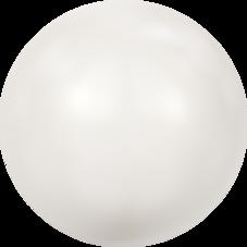 HALVPÄRLA | Crystal White 10 mm