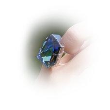 DIAMOND - Sahara  /ring 27 mm