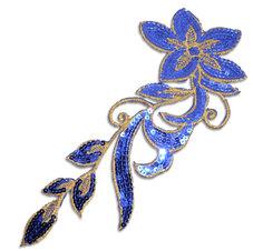 SPARKLING FLOWER - blå