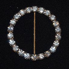 RUNT crystal/silver 4 cm