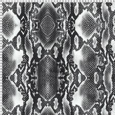 SNAKE - svart/vit