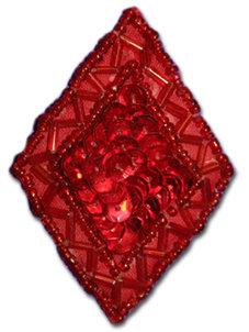 Romb - röd