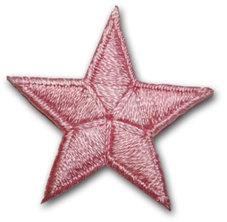 Stjärna - rosa