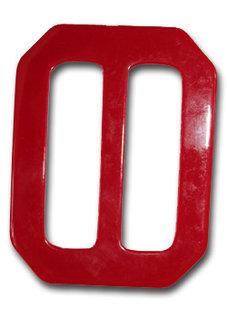PLASTSPÄNNE - rött 6,7x7,5