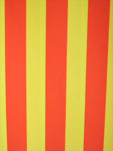 STRIPE orange/gul