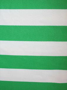 STRIPE grön/vit