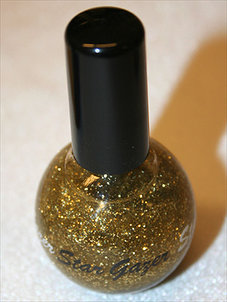 NAGELLACK - guld/glitter