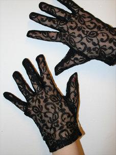 SPETSHANDSKAR - svart