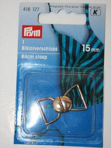 BIKINISPÄNNE - guld, 1,5 cm