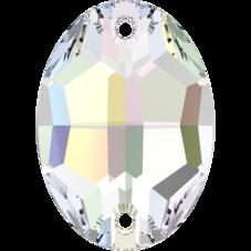 3210 Crystal AB, 10x7 mm