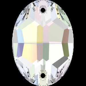 3210 Crystal AB, 16x11 mm