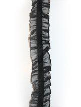 VOLANGRESÅR - dubbel, svart