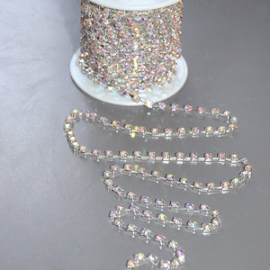STRASSKEDJA -Silver/Crystal AB