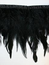 FJÄDERFRANS - svart