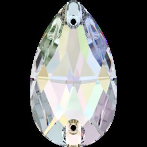 3230 DROPPE 18x10,5 mm Crystal AB (001 AB)