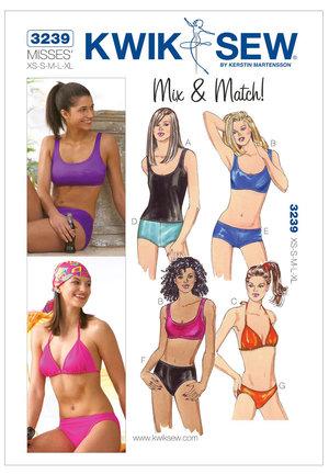 Bikini, linne - MIX & MATCH, XS-XL